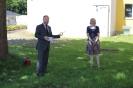 Frau Föcking und Frau Bröker im Corona-Modus verabschiedet 23. 6. 2020